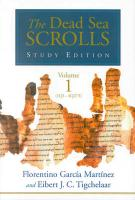 Dead Sea Scrolls: Study Edition Vol 1 & 2