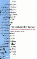The Septuagint in Context
