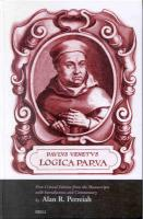 Paulus Venetus Logica Parva: First Critical Edition from the Manuscripts With Introduction and Commentary (Latin Edition)