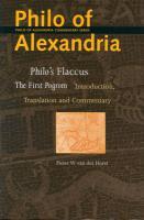 Philo's Flaccus