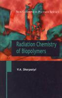 Radiation Chemistry of Biopolymers