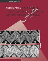 Muqarnas, Volume 23