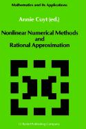 Nonlinear Numerical Methods and Rational Approximation (Mathematics and Its Applications (43), Band 43)