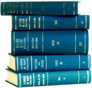 Recueil Des Cours de L'Academie de Droit International de La Haye: Collected Courses of the Hague Academy of Int'l Law