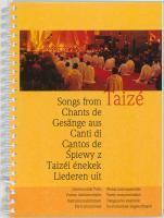Liederen uit Taize: begeleidingsbundel