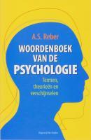 Woordenboek van de Psychologie / druk 12 - Reber, A.S.
