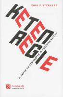 Ketenregie, acteren en regisseren in publieke ketens / druk 1