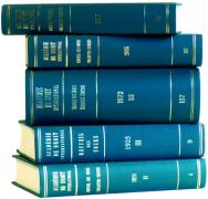 Recueil des cours, Collected Courses, Tome/Volume 250A (Index Tomes/Volumes 1993-1994)
