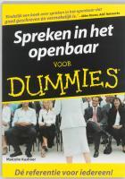 Spreken in het openbaar voor Dummies / druk 1 - Kushner, M.