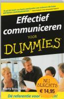 Effectief communiceren voor Dummies / druk 5