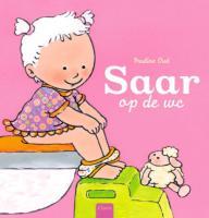 Saar op de wc (met onderbroekje) + onderbroekje / druk 1 - Oud, P.