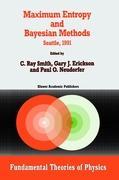 Maximum Entropy and Bayesian Methods: Seattle, 1991 C.R. Smith Editor