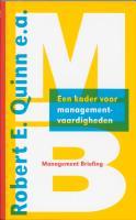Een kader voor managementvaardigheden / druk 1