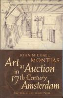 Art at Auction in 17th-Century Amsterdam