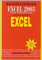 Basishandboek Excel 2003 / druk 1 - Aalberts, A.