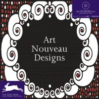 Art Nouveau Designs (Pepin Patterns, Designs and Graphic Themes) (Agile Rabbit Editions)