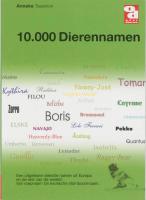 10.000 Dierennamen / druk 1