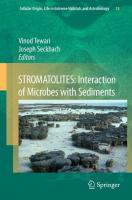 STROMATOLITES: Interaction of Microbes with Sediments