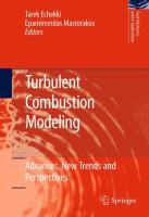 Turbulent Combustion Modeling: Advances, New Trends and Perspectives