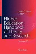 Higher Education: Handbook of Theory and Research 25