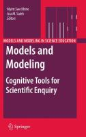 Models and Modeling: Cognitive Tools for Scientific Enquiry (Models and Modeling in Science Education (6), Band 6)