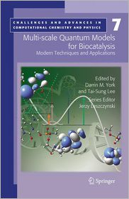 Multi-scale Quantum Models for Biocatalysis: Modern Techniques and Applications (Challenges and Advances in Computational Chemistry and Physics, Band 7)
