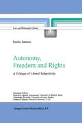 Santoro, Emilio: Autonomy, Freedom and Rights