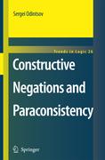 Odintsov, Sergei: Constructive Negations and Paraconsistency