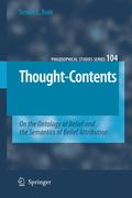 Boër, Steven E.: Thought-Contents