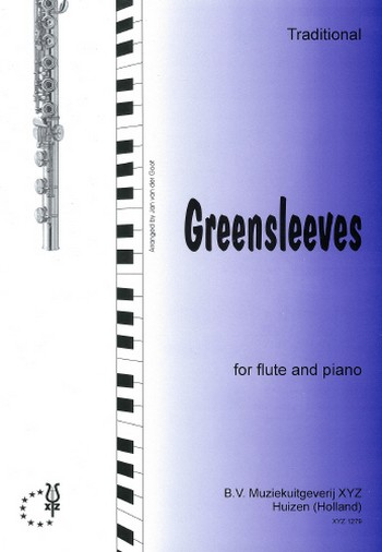 Greensleeves : for flute and piano